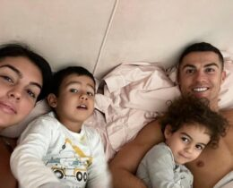 Cristiano Ronaldo, Georgina Rodríguez, Filhos