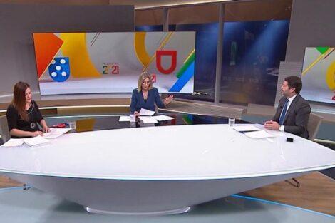 Debates Presidenciais, Clara De Sousa, Marisa Matias, André Ventura