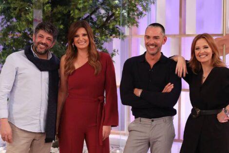 Dois Às 10, Cristina Ferreira, Maria Botelho Moniz, Cláudio Ramos, João Patrício