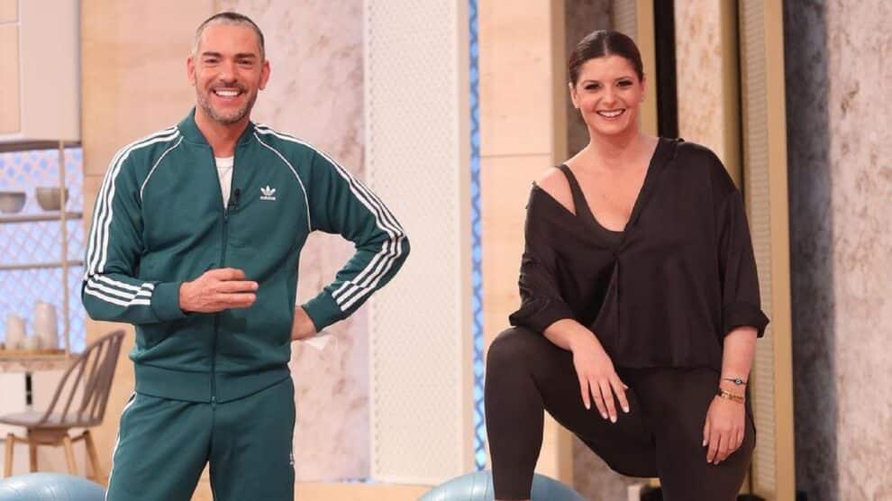 Dois Às 10, Maria Botelho Moniz, Cláudio Ramos