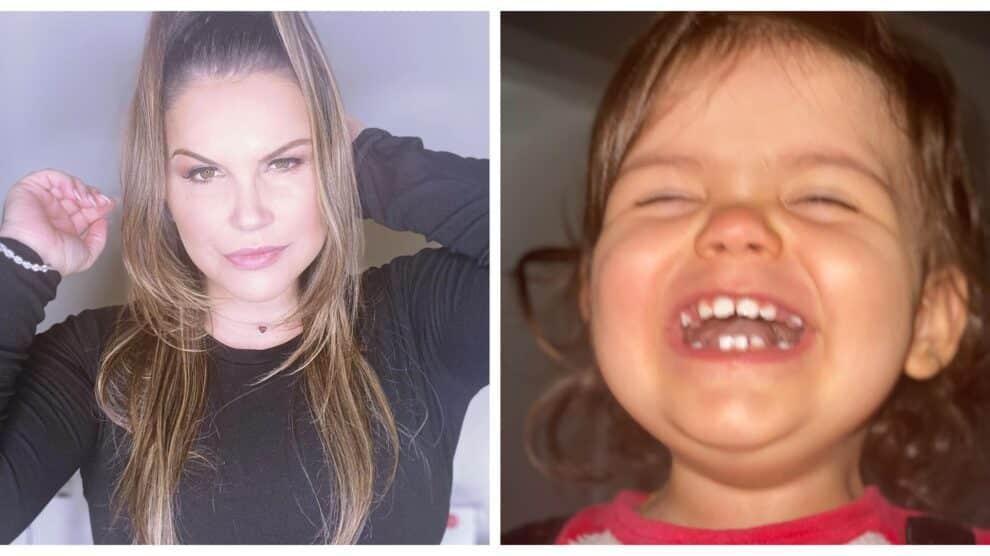Katia Aveiro Filha Valentina