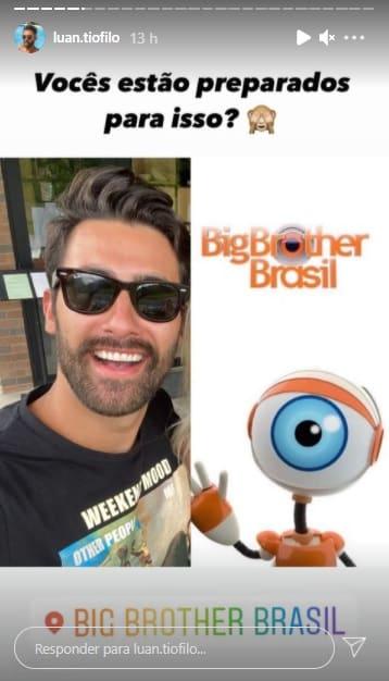 Luan, Casa Dos Segredos, Big Brother