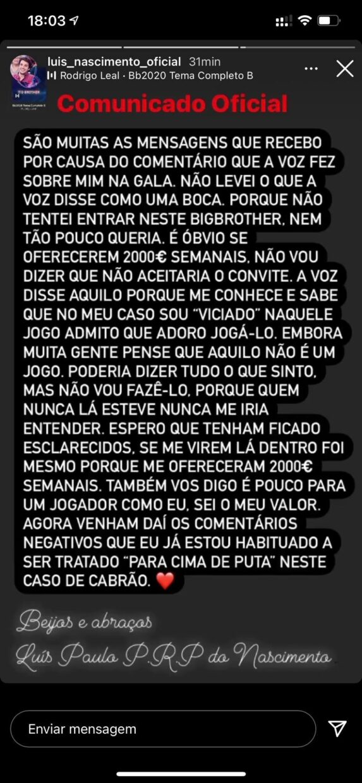 Luis Nascimento