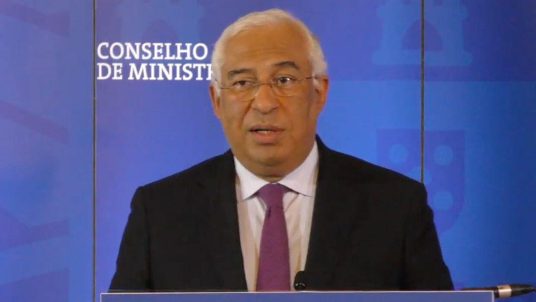 Primeiro Ministro António Costa, Portugal, Novas Medidas Confinamento