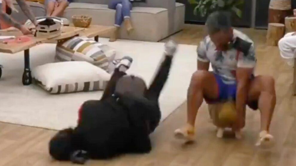 Big Brother Pedro Soa Violenta Queda