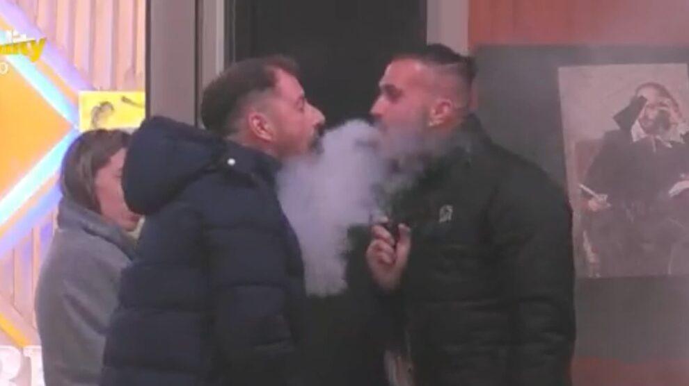Bruno Savate Atira Fumo Pedro Fonseca Big Brother