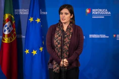 Covid-19 Governo Portugal Ministra Mariana Vieira Da Silva Novo Confinamento