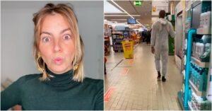 Jessica Athayde Homem Vestido Coelho Supermercado