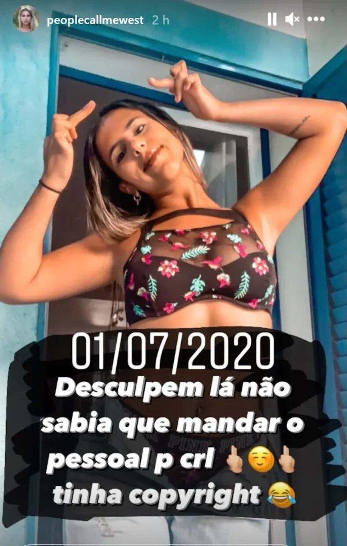 Joana Resposta Pipoca Mais Doce Big Brother