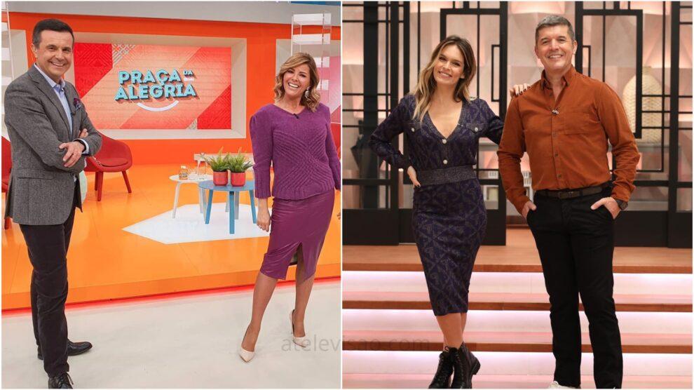 Jorge Gabriel Sonia Araujo Diana Chaves Joao Baiao Rostos Da Televisão Portuguesa
