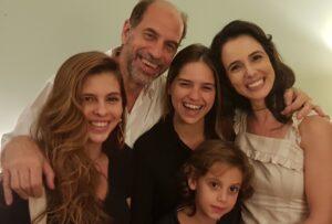 Roberto Bomtempo Miriam Freeland Familia