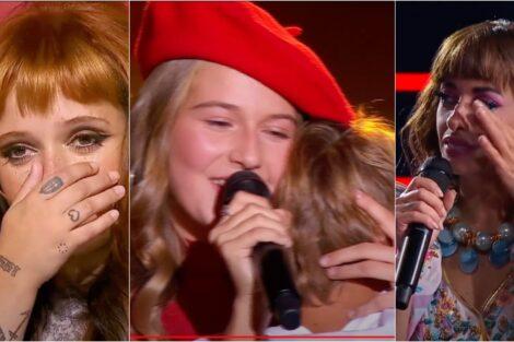 The Voice Kids Madalena Castro Emocionante Lagrimas