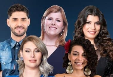 5 Nomeados Big Brother