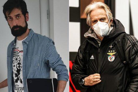 António Raminhos, Jorge Jesus, Sl Benfica