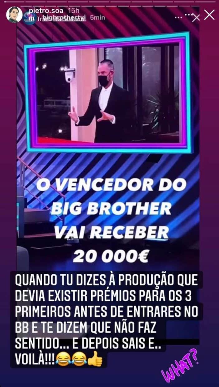 Big Brother, Pedro Soá