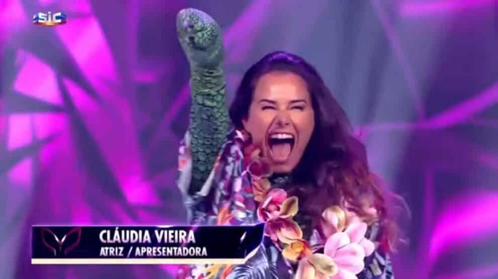 Cláudia Vieira, A Máscara, Sic