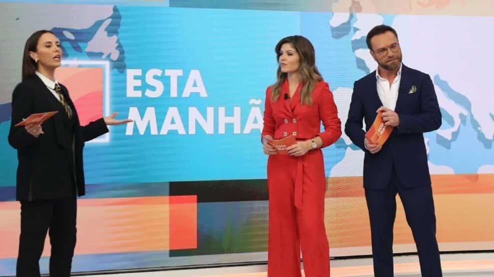 Esta Manhã, Tvi, Iva Domingues, Sara Sousa Pinto, Nuno Eiró