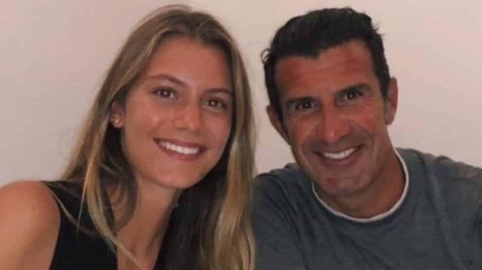 Luís Figo, Filha Martina