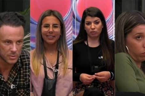 Big Brother, Cláudio, Joana, Sofia, Sónia
