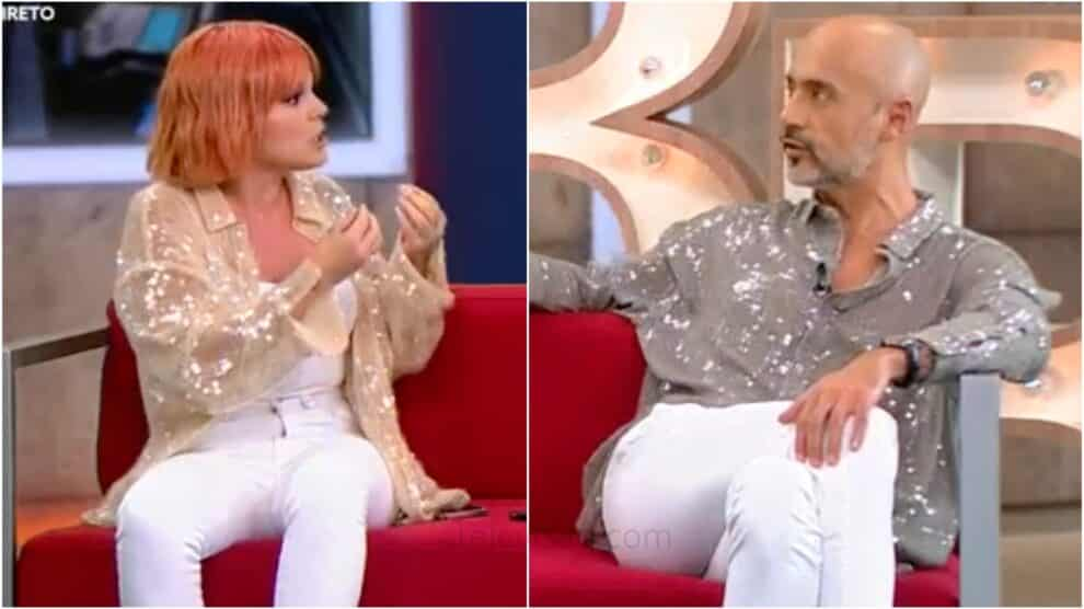 Big Brother Fanny Pedro Crispim Discutem