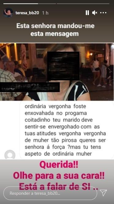 Big Brother, Teresa, Instagram