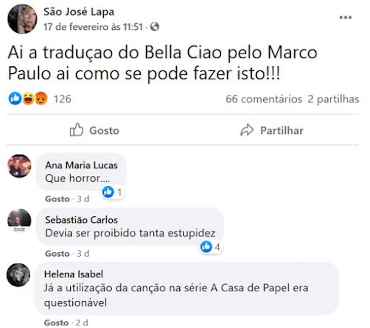 Criticas Musica Marco Paulo Adeus Adeus