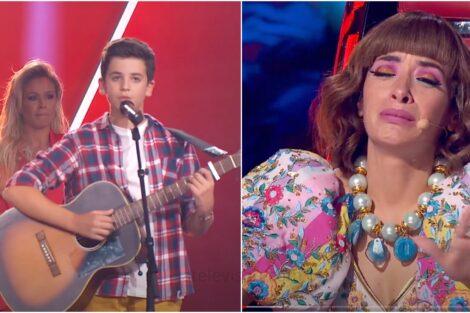 The Voice Kids Alexandre Caldeira Surpresa