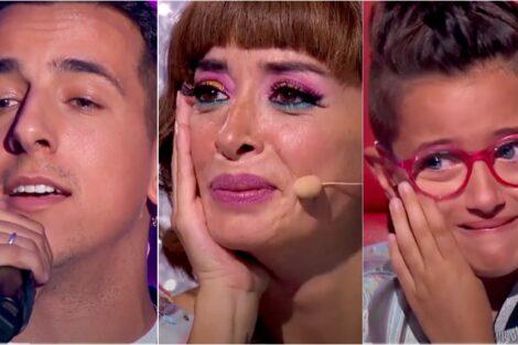The Voice Kids Fernando Daniel Emocionada