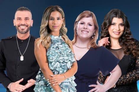 4 Finalistas Big Brother Duplo Impacto