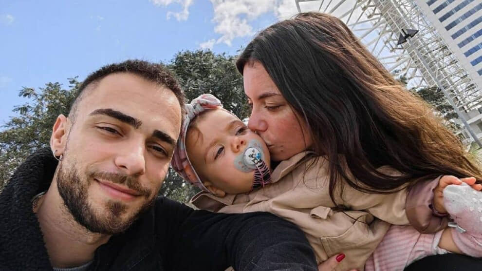 Diogo Piçarra, Mel Jordão, Filha Penélope