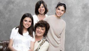 Júlia Pinheiro, Filhas E Enteada