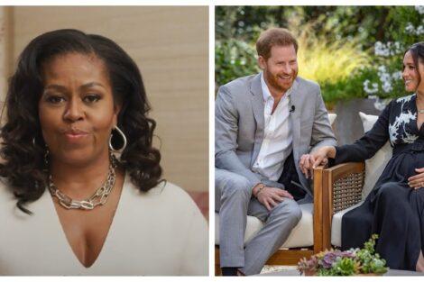 Michelle Obama Harry Meghan Markle