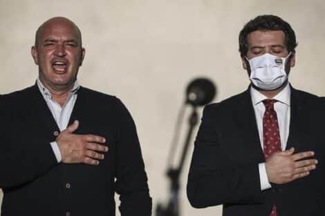 Nuno Graciano, André Ventura, Partido Chega, Autárquicas