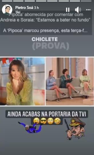 Pedro Soá, Ana Garcia Martins, A Pipoca Mais Doce, Big Brother