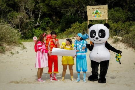 Canal Panda A Ilha Do Panda