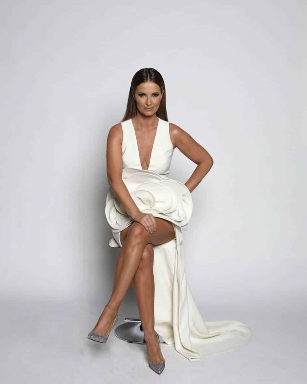 Cristina Ferreira Vestido Flor All Together Now