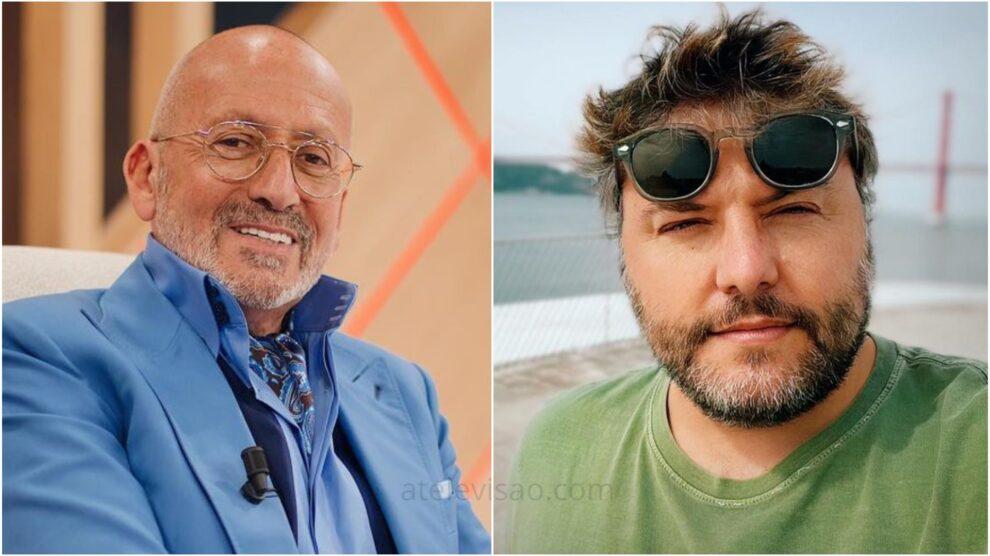 Manuel Luís Goucha, César Mourão