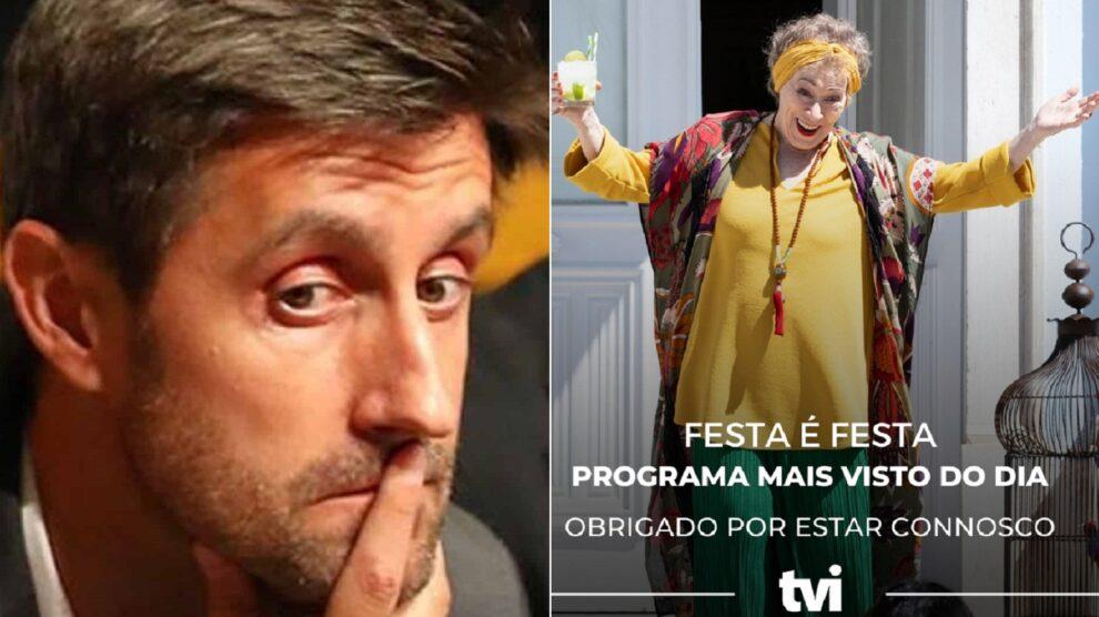 Daniel Oliveira, Tvi, Sic, Audiências, Festa É Festa