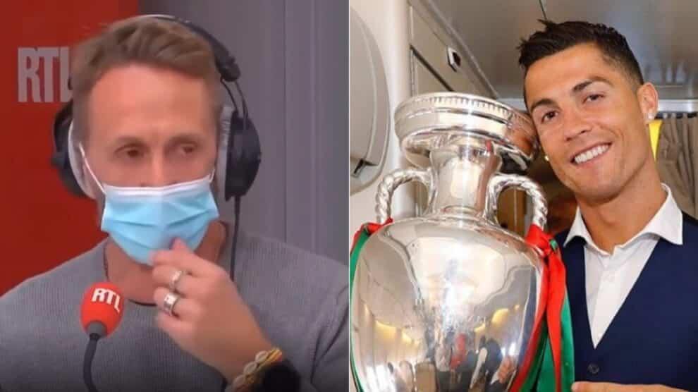 Jornalista Francês, Cristiano Ronaldo, Portugal