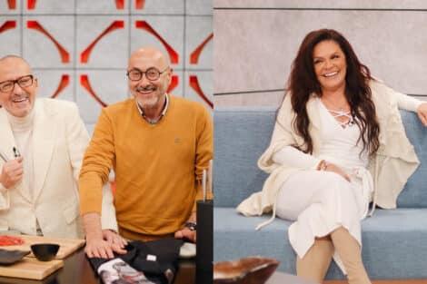 Manuel Luís Goucha, Rui Oliveira, Rita Ribeiro