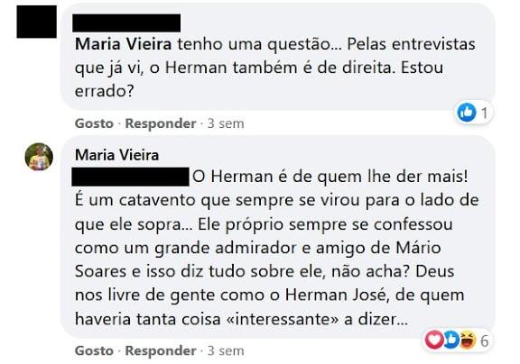 Maria-Vieira-Comentario-Herman-Jose
