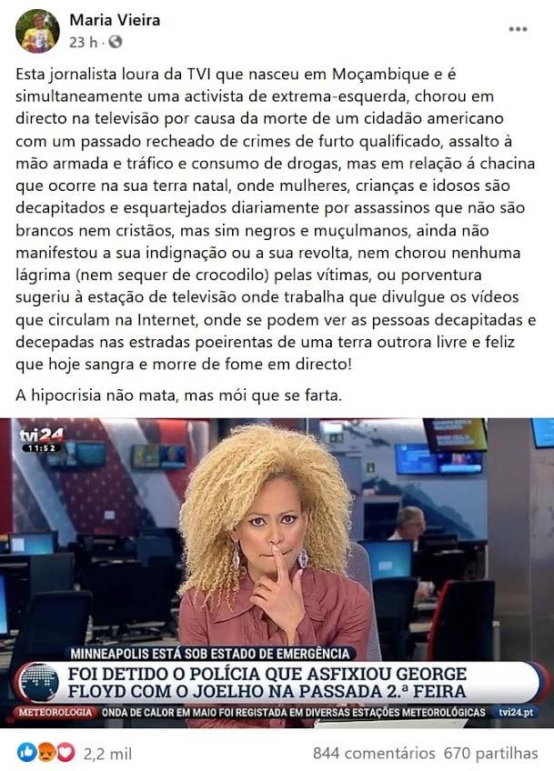 Maria Vieira, Conceição Queiróz