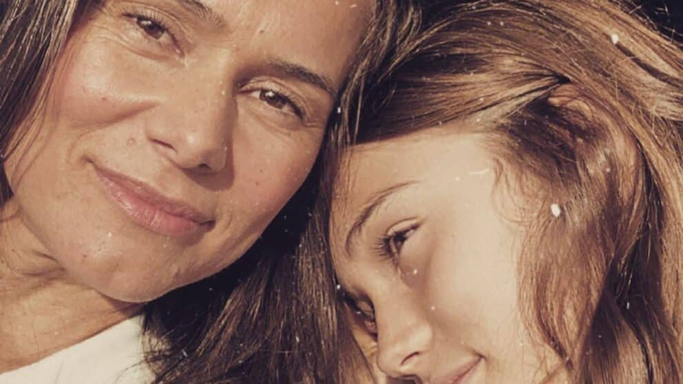 Cláudia Vieira, Filha Maria