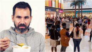 Guilherme Duarte, Filas Centro Comerciais