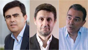 José Fragoso Rtp, Daniel Oliveira Sic, Nuno Santos Tvi