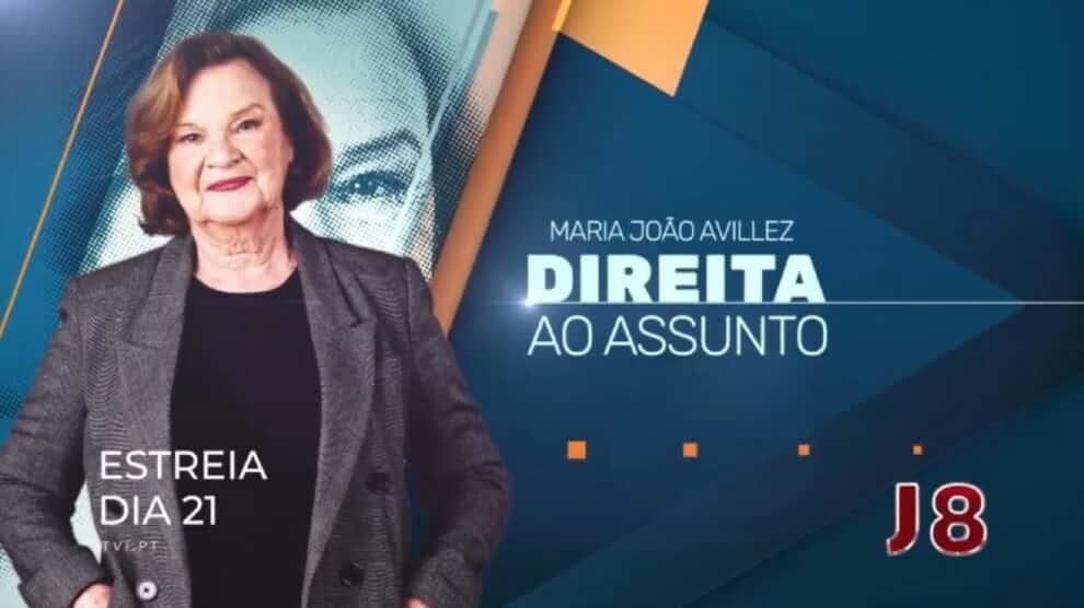 Maria Joao Avillez, Jornal Das 8, Tvi