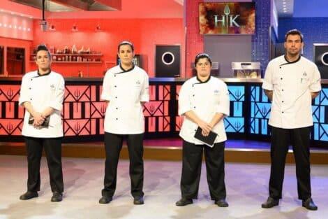 4 Finalistas De Hell'S Kitchen, Sic
