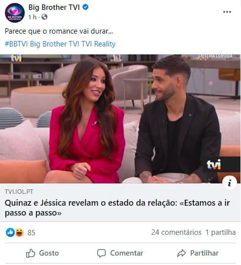 Big Brother, Jéssica Nogueira, Gonçalo Quinaz