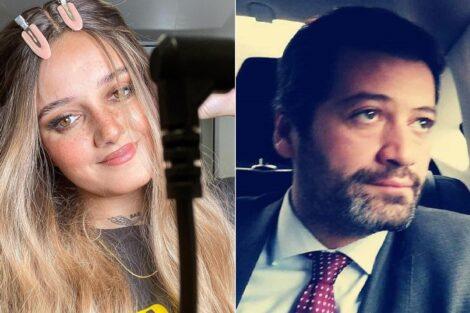 Carolina Deslandes, André Ventura