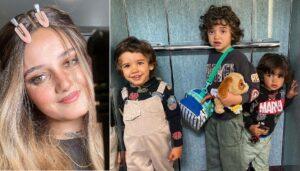 Carolina Deslandes, Filhos